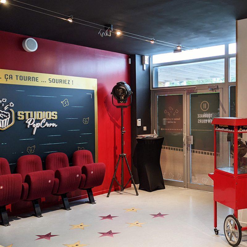Studios PopCorn - Jeu d'aventure