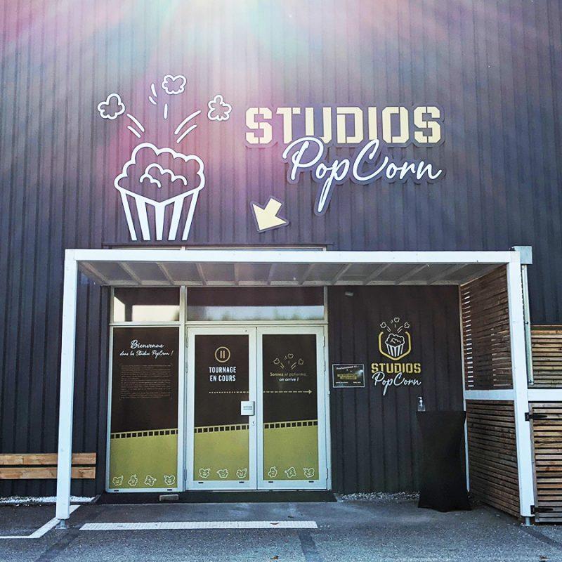 Localisation Studios Popcorn Voreppe